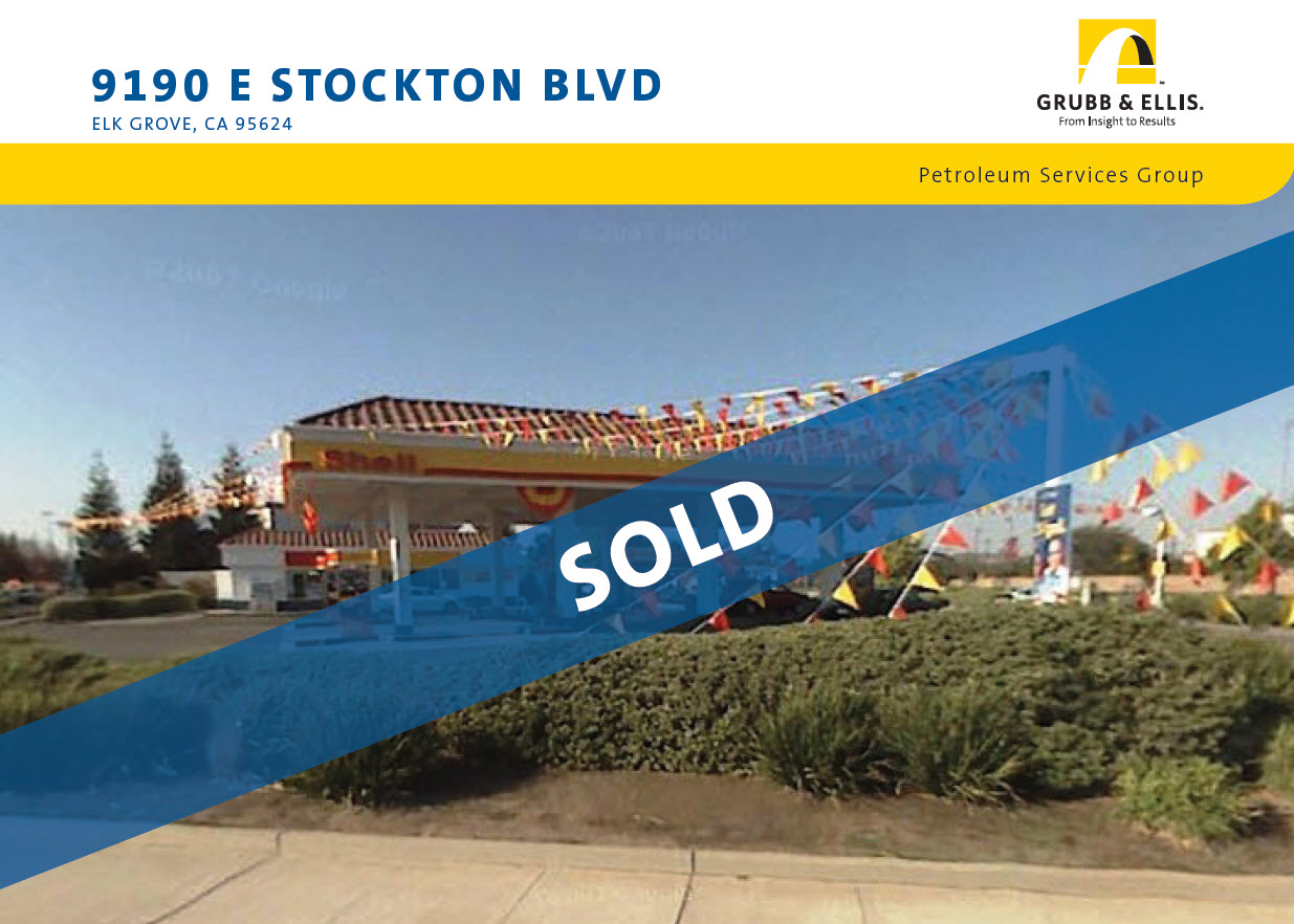 SOLD!: 9190 E Stockton Blvd